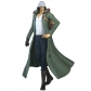 Aokiji Kuzan Cosplay Costume and Wig from One Piece Pirate Warriors 2 Free Shipping Custom Made for Halloween and Christmas