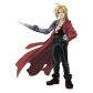 Free Shipping Fullmetal Alchemist Edward Elric Cosplay Costume and Wig for Halloween and Christmas