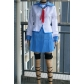 Angel Beats Yui Cosplay Costume Free Shipping for Halloween and Christmas