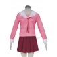 Azumanga Daioh Girl School Pink Uniform Free Shipping for Halloween and Christmas