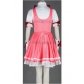 Card Captor Sakura Kinomoto Pink Cosplay Dress Free Shipping for Halloween and Christmas