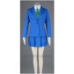 Detective Conan Ran Mouri Teitan Cosplay School Uniform Free Shipping for Halloween and Christmas