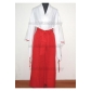 InuYasha Kikyo Cosplay Costume Free Shipping for Halloween and Christmas