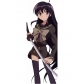 Free Shipping Shakugan no Shana Yoshida Kazumi Cosplay Autumn School Uniform for Halloween and Christmas