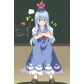 Free Shipping Touhou Project Keine Kamishirasawa Cosplay Costume for Halloween and Christmas