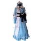Free Shipping Touhou Project Yuyuko Saigyouji Cosplay Costume for Halloween and Christmas