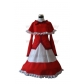 Touhou Project Phantasmagoria of Dim.Dream Yumemi Okazaki Cosplay Costume Free Shipping for Halloween and Christmas