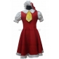 Free Shipping Touhou Project Flandre Scarlet Cosplay Costume for Halloween and Christmas