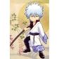 Gintama Gintoki Sakata Cosplay Costume Free Shipping for Halloween and Christmas