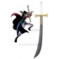 One Piece Mihawk Cosplay Sword Wide Free Shipping for Halloween and Christmas