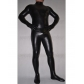 Black Snake PU Cosplay Zentai Suit Free Shipping Custom Made for Halloween and Christmas