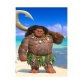 Maui Cosplay Wig from Moana Free Shipping for Halloween and Christmas