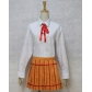 Prison School Kurihara Mari Cosplay Costume and Wig Free Shipping Custom Made for Halloween and Christmas