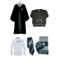 Free Shipping Harry Potter Slytherin Draco Malfoy Robe Sweater Shirt Hat Scarf Custom Made for Halloween and Christmas