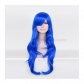 Blue Cosplay Long Wig Free Shipping for Halloween and Christmas