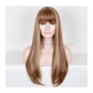 Golden Cosplay Long Wig Free Shipping for Halloween and Christmas
